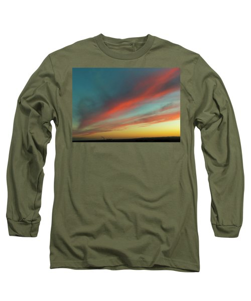 Streaming Sunset Long Sleeve T-Shirt