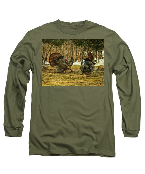 Strutters And Hens Long Sleeve T-Shirt