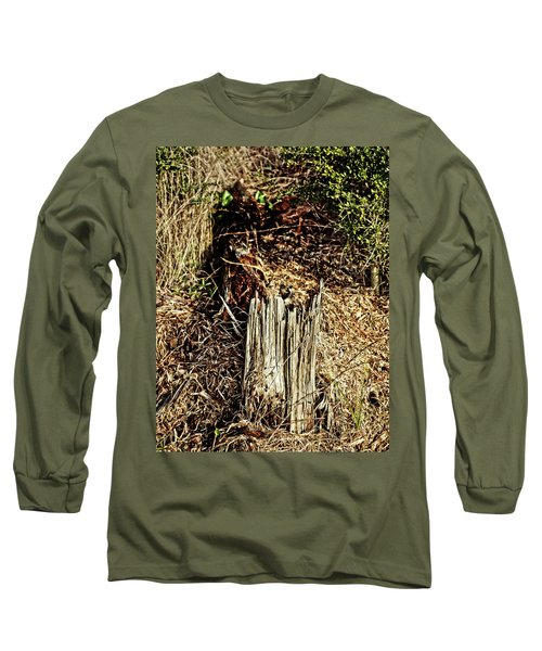 Stump In Swamp Long Sleeve T-Shirt