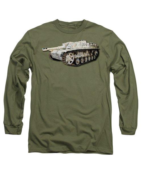 Sturmhaubitze 42 - Stuh 42 Canvas Long Sleeve T-Shirt