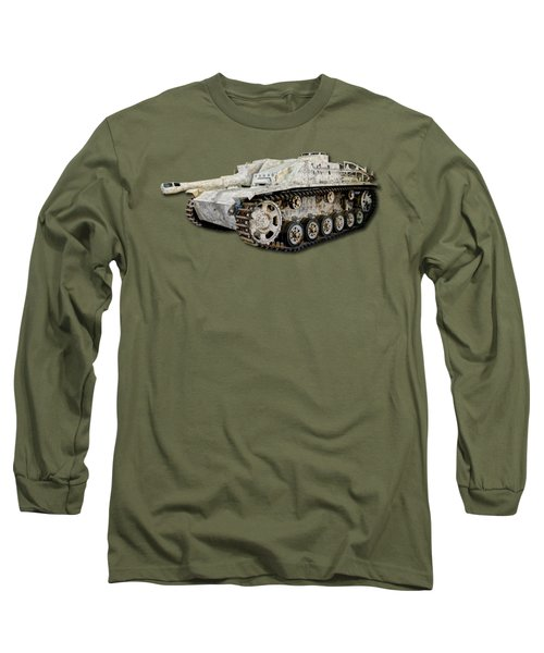 Sturmhaubitze 42 - Stuh 42 Map Long Sleeve T-Shirt