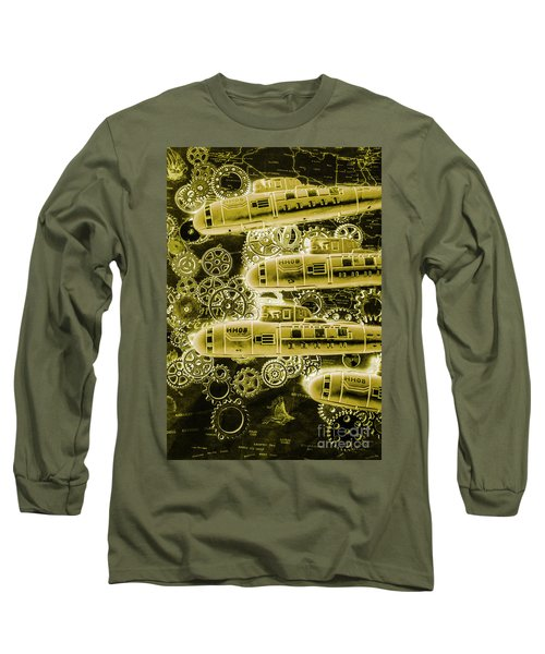 Submersible Seas Long Sleeve T-Shirt