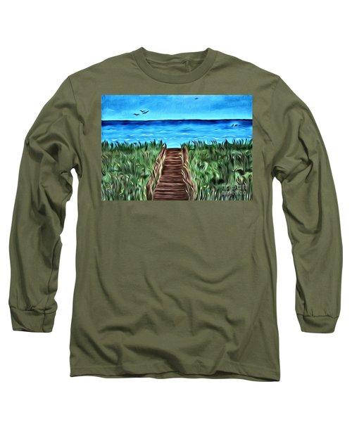 Summer Day Long Sleeve T-Shirt