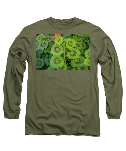 Summer Leaves Long Sleeve T-Shirt