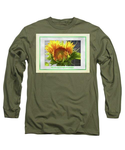 Sunflower Birthday Long Sleeve T-Shirt