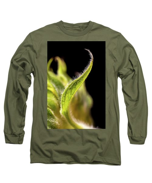 Sunflower Leaf Long Sleeve T-Shirt