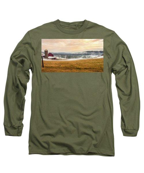 Sunrise On The Farm Long Sleeve T-Shirt