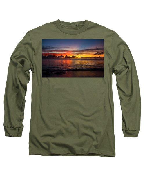 Sunset 4 No Filter Long Sleeve T-Shirt