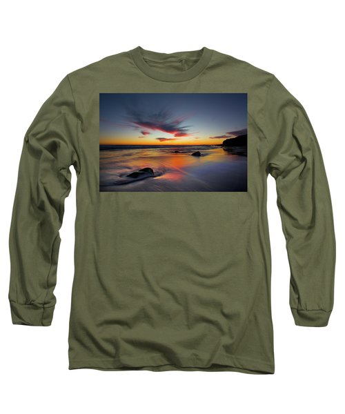 Sunset In Malibu Long Sleeve T-Shirt