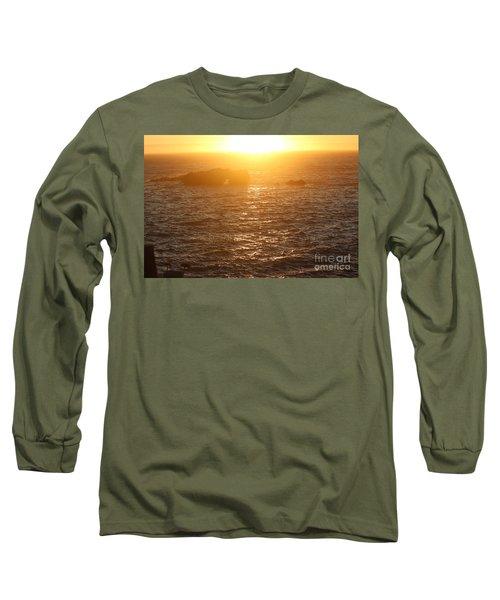 Sunset On The Coast Long Sleeve T-Shirt