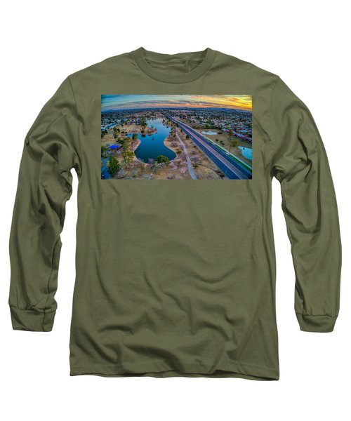 Sunset Over Chaparral  Long Sleeve T-Shirt