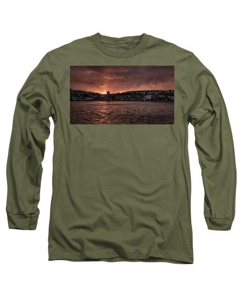Sunset Harbour Long Sleeve T-Shirt