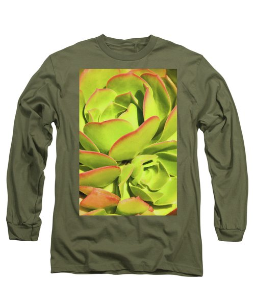 Sweet Succulents I Long Sleeve T-Shirt