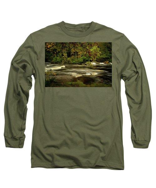 Swirling River Long Sleeve T-Shirt