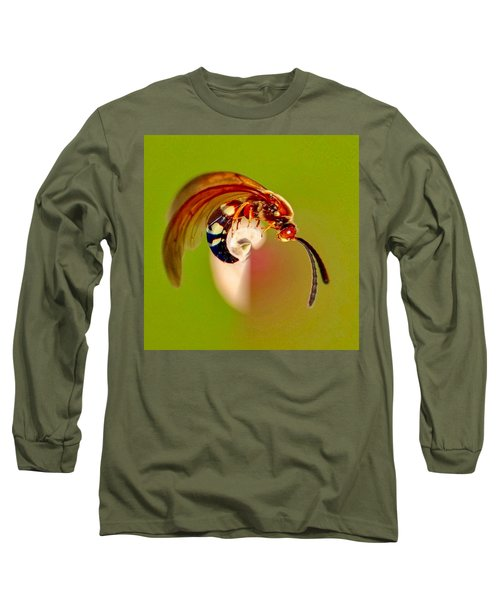 Swirly Wasp Long Sleeve T-Shirt