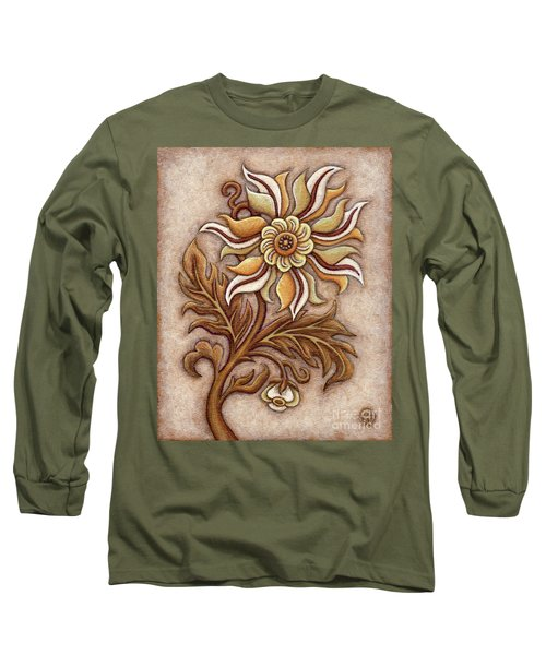 Tapestry Flower 1 Long Sleeve T-Shirt