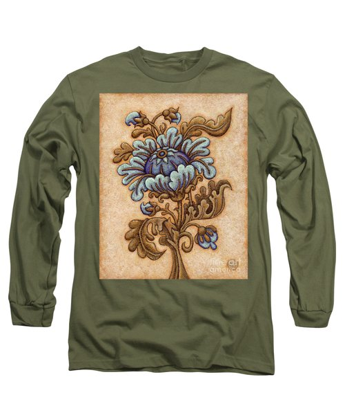 Tapestry Flower 5 Long Sleeve T-Shirt