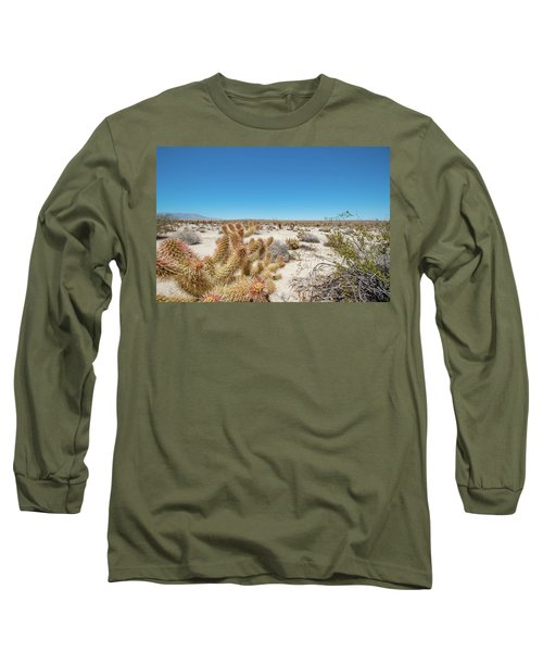 Teddy Bear Cactus Long Sleeve T-Shirt