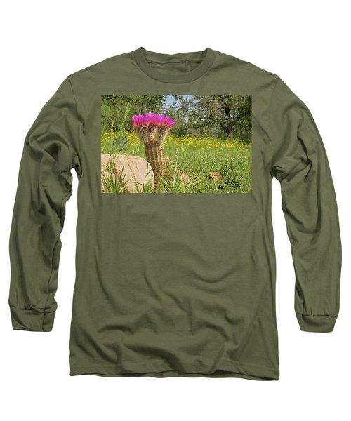 Texas Lace Long Sleeve T-Shirt