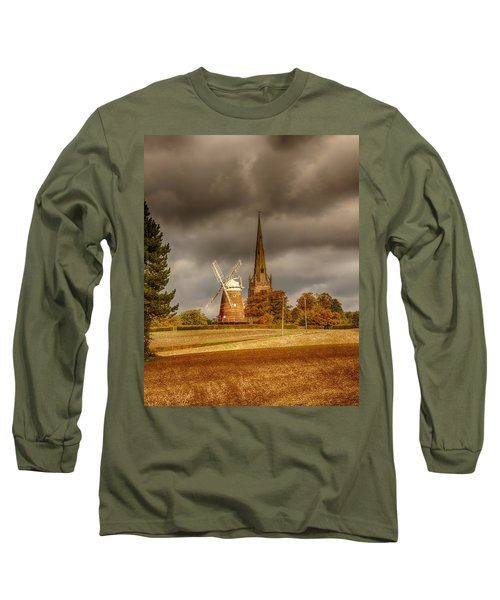 Long Sleeve T-Shirt featuring the photograph Thaxted Village by Chris Cousins