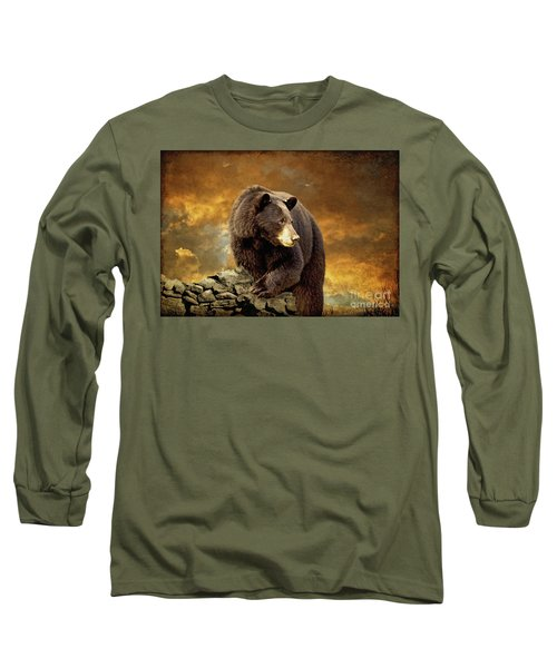 The Bear Went Over The Mountain Long Sleeve T-Shirt