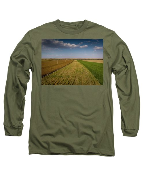 The Colored Fields Long Sleeve T-Shirt