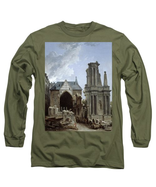 The Demolition Of The Church Long Sleeve T-Shirt