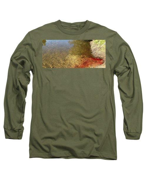 The Earth Is Bleeding Long Sleeve T-Shirt