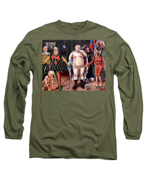 The Emperor And His Crazy House Long Sleeve T-Shirt