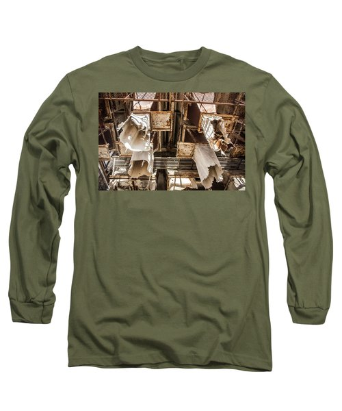 The Ghost Of Factories Past Long Sleeve T-Shirt