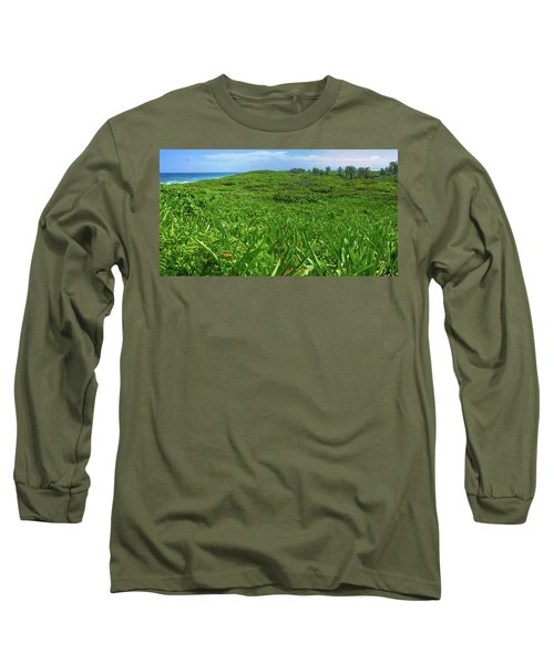 The Green Island Long Sleeve T-Shirt