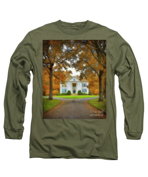 The Hoge Building At Berry College Long Sleeve T-Shirt