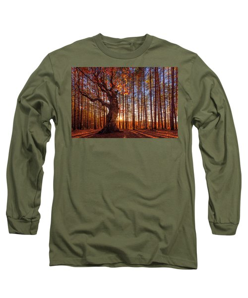 The King Of The Trees Long Sleeve T-Shirt