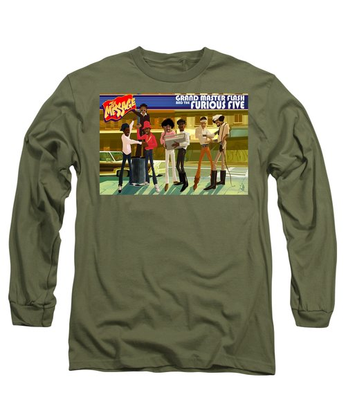 The Message Long Sleeve T-Shirt