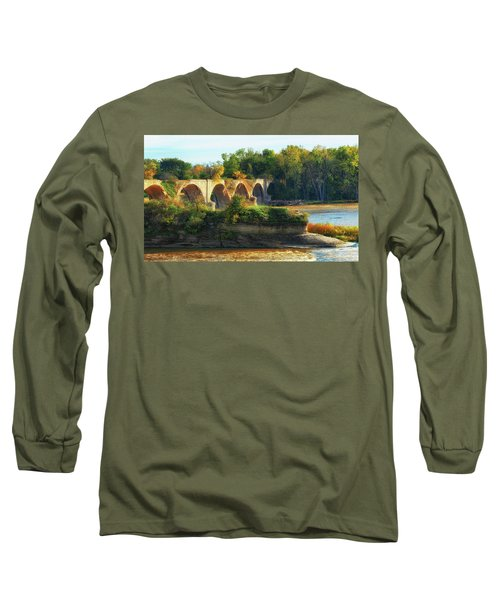The Old Bridge  Long Sleeve T-Shirt