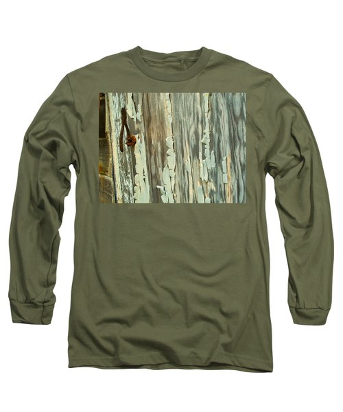 The Peeling Wall Long Sleeve T-Shirt