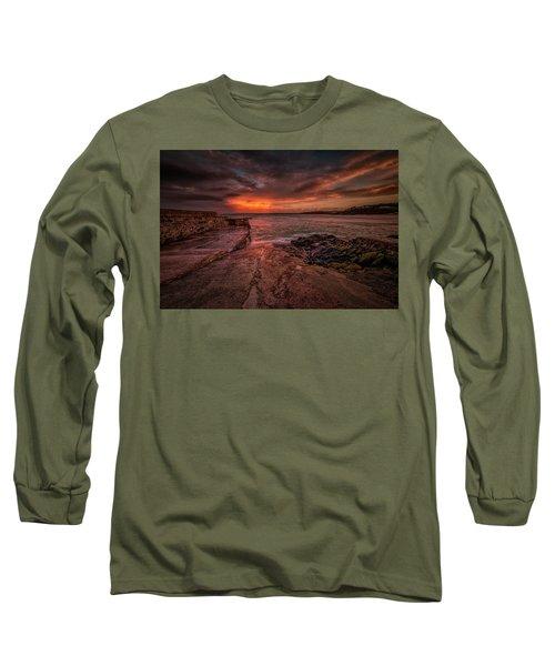 The Pier Sunset Long Sleeve T-Shirt