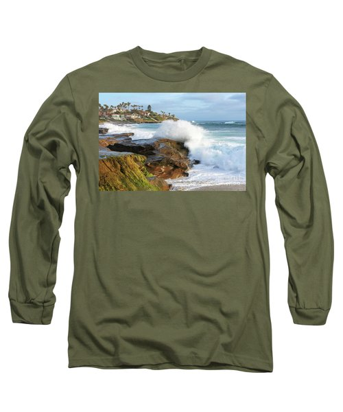 The Sea Was Angry That Day My Friends Long Sleeve T-Shirt