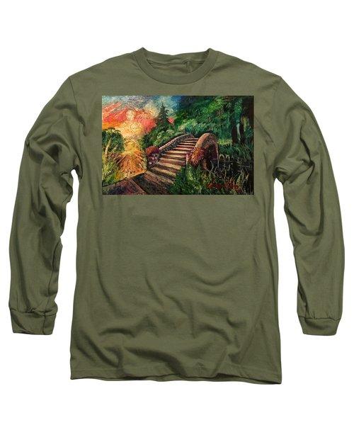 The Spirit Bridge At City Park  Long Sleeve T-Shirt