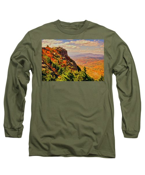 The Summit In Fall Long Sleeve T-Shirt