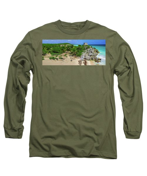 The Temple By The Sea Long Sleeve T-Shirt