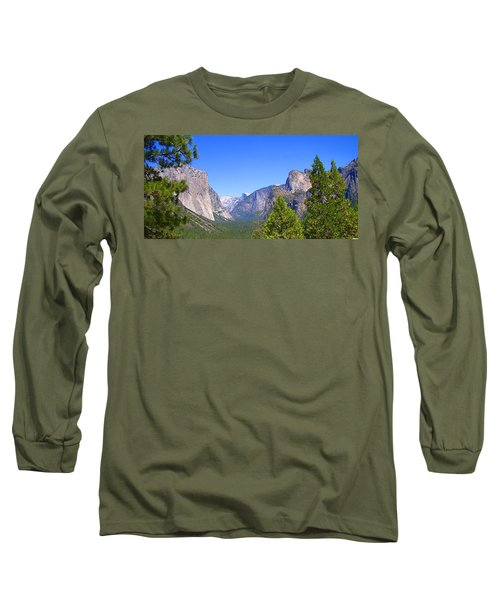 The Valley Of Inspiration-yosemite Long Sleeve T-Shirt
