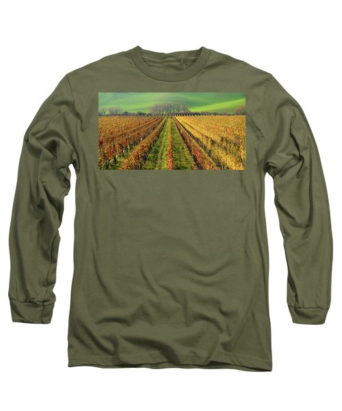 The Wine Line Long Sleeve T-Shirt