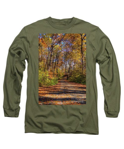 The Yellow Road Long Sleeve T-Shirt