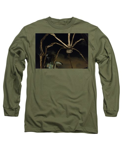 Long Sleeve T-Shirt featuring the photograph Things That Go Bump In The Night by Alex Lapidus