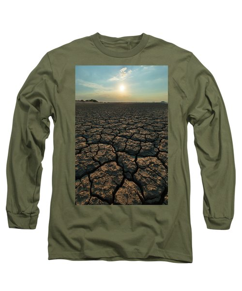Thirsty Ground Long Sleeve T-Shirt