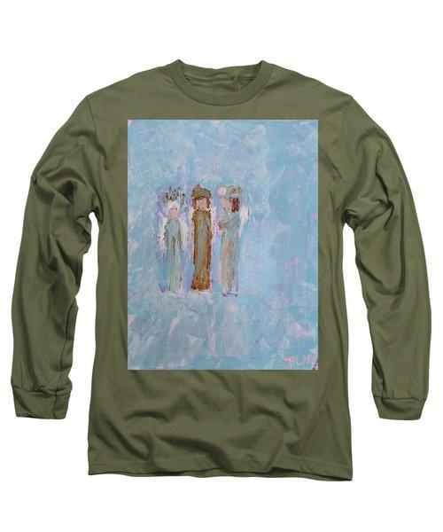 Three Friendly Angels Long Sleeve T-Shirt