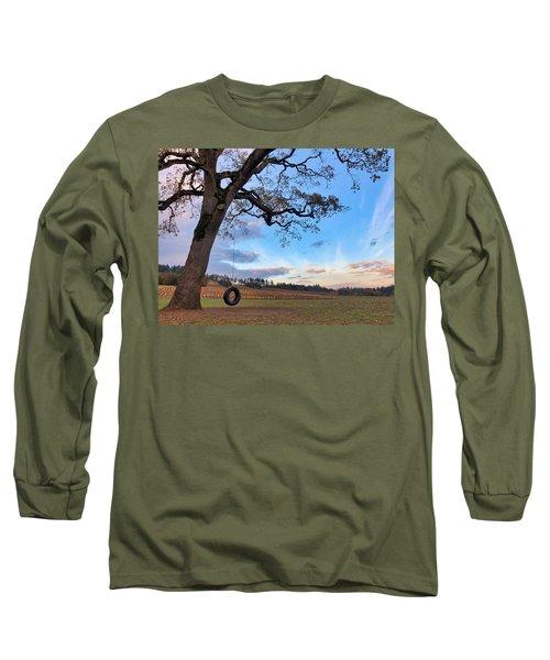 Tire Swing Tree Long Sleeve T-Shirt
