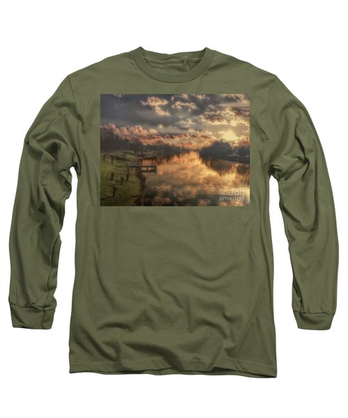 Long Sleeve T-Shirt featuring the photograph To Infinity And Beyond by Leigh Kemp