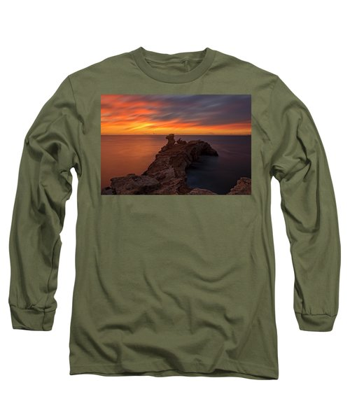 Total Calm At A Sunrise In Ibiza Long Sleeve T-Shirt